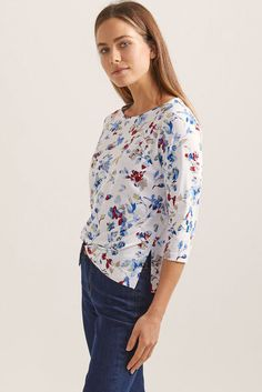 Valley Floral Print Tee | Clothing | Sportscraft