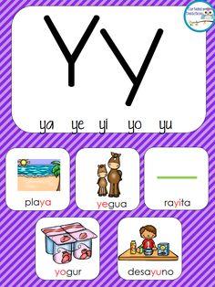 ABECEDARIO SILÁBICO de consonantes -Orientacion Andujar