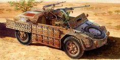 1942 Camionetta AS 42 Sahariana - box art Italeri