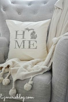 lovely state pillow.