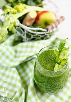 ChilliBite.pl - motywuje do gotowania!: Zielony koktajl ostry detoks