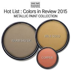 Hottest Metallic Colors of 2015 | Modern Masters Cafe Blog