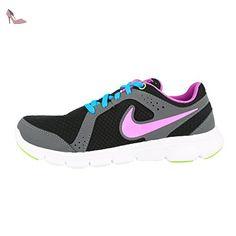 Revolution 3, Chaussures de Running Entrainement Femme, Noir (Black/Fresh Mint-White-DK Grey), 36.5 EUNike