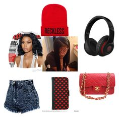 """Untitled #36"" by missdiva231 on Polyvore featuring interior, interiors, interior design, home, home decor, interior decorating, Nicki Minaj and Chanel"