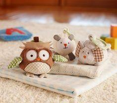 Nursery Farm Trio for stroller/carseat @potterybarnkids.com $24.00