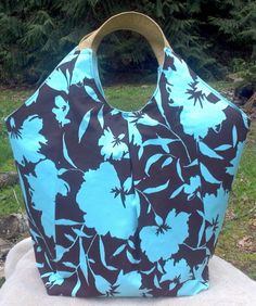 Tote Bag for Spring and Summer  Use code MOM12 by BlackCatStitches, $30.00