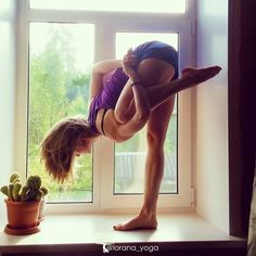 Just believe in yourself and everything will be possible! FOR MORE YOGA https://instagram.com/lorana_yoga/