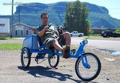 single Loderunner DIY bike plans from #atomiczombie