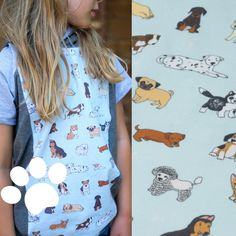 We love our furry little friends. Why not wear them? Show your love with our Doggos print Bamboo Rayon, Fabulous Fabrics, Darning, Otters, All Print, French Terry, Cotton Spandex, Dog Lovers, Short Sleeve Dresses