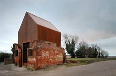 Cabin Porn™ – Built in Suffolk, England by Haworth Tompkins...the ruins of a Victorian building are given new life.