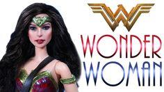 Wonder Woman Doll Repaint [ WONDER WOMAN THE MOVIE ] - YouTube Diy Ooak Doll, Ooak Dolls, Barbie Dolls, Barbie Stuff, Barbie Fairy, Doll Videos, Doll Tutorial, Doll Repaint, Custom Dolls