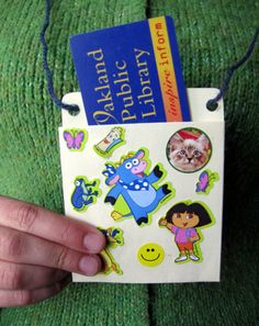 Activities: Make a Library Card Holder