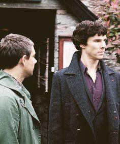 John + Sherlock