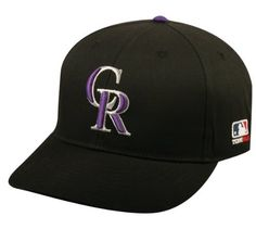 """Colorado Rockies ADULT Major League Baseball Officially Licensed MLB Adjustable Baseball Replica Cap/Hat by Team MLB OC Sports Outdoor Cap Co.. $9.49. Colorado Rockies MLB Replica Cap Adult Size (6 3/4 - 7 1/2"""") Adjustable Velcro Fit with Velcro Q3 Technology Embroidered MLB 3-D """"Rockies"""" Logo Major League Baseball Officially Licensed Hat"""