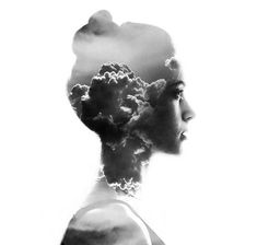 Bulgarian artist Aneta Ivanova offers tips and insight into her captivating double picture image creations. Learn how to master double exposure in Photoshop. Portraits En Double Exposition, Exposition Photo, Tutorial Photoshop, Photoshop Images, Photoshop Actions, Creative Photography, Art Photography, Outline Photography, Profile Photography