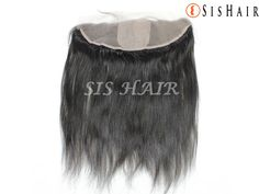 Brazilian Virgin Hair 13×4″ Silk Base Lace Frontal Closure Silky Straight Wavy