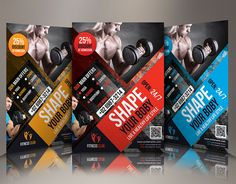 """Check out my @Behance project: """"Fitness/ GYM Flyer"""" https://www.behance.net/gallery/36013467/Fitness-GYM-Flyer"""