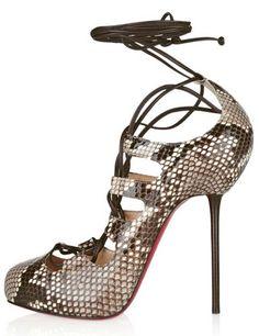 Product Name: 5 Snake Sheepskin Womens Red Bottom High Heels; Weight: 1.00kg; Material: Sheepskin; Heel Shape: Stiletto; Heel Height: 1 1/5 Inch; Sole Material: Split Sole; Platform Height: 4/5 Inch;