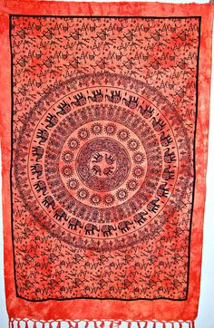 Mandala Tapestry Tapestries Indian Tapestry Hippie by BeingGypsy, $16.99
