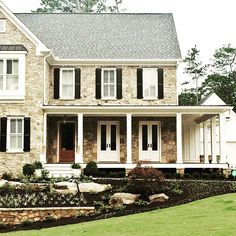 Inspired by a Pennsylvania farmhouse for a client in Historic Roswell with @brendanmwalsh and Arie Kohn Architects.