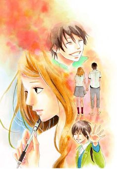 Orange. Naho & Kakeru.