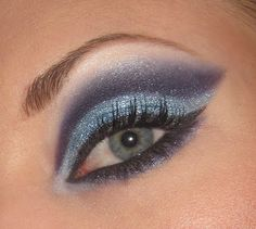 Blue navy cut crease