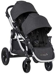 Amazon.com : Baby Jogger City Select Double Stroller | Baby Stroller with 16 Ways to Ride, Included Second Seat | Quick Fold Stroller, Jet : Baby City Select Double Stroller, Baby Jogger City Select, Best Double Stroller, Double Strollers, Baby Strollers, City Mini Gt, Futur Parents, Peek A Boo, Jogging Stroller