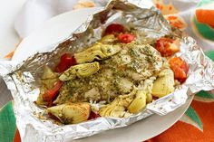 This low-cal chicken and artichoke dish also boasts easy cleanup—a win-win-win!