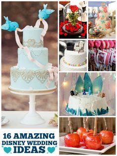 16 Disney Wedding Ideas