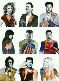 Avengers via Twitter
