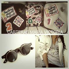 Cartera de Cuero Fb Carteras Maria Victoria