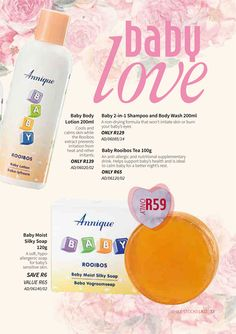 We are the proud distributors of the Annique range of products. Shop in our store, pay safely online and we will deliver to anywhere in South Africa. Find monthly specials, daily price busters and all your Annique product requirements. Baby Body, Body Wash, Natural Remedies, Lotion, February, Shampoo, Health And Beauty, Skincare, Diet