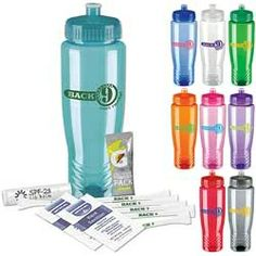 Sports Bottle Tee Kit Great Golfing Gift Sets. Let your clients promote your company for you!