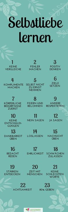 Self-love - a complete guide in 23 points - running .-Die Selbstliebe – ein kompletter Guide in 23 Punkten – Laufvernarrt Learn self-love – how it works! Finally take self-care and relaxation in hand. Blog Love, Learn To Love, Le Point, Better Life, Me As A Girlfriend, Self Care, Good To Know, Fitness Inspiration, First Love