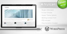 Vulcan – Minimalist Business WordPress Theme