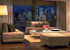 Image result for penthouse apartment at night