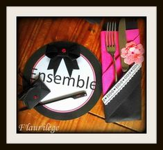 Table Amitié (préparation)