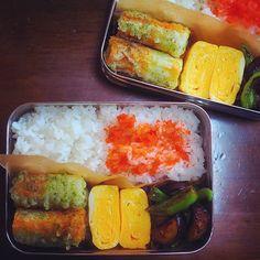 朝楽チンお弁当の詰め方☝︎|LIMIA (リミア) Bento Box Lunch, Fresh Rolls, Dishes, Ethnic Recipes, Food, Beautiful, Plate, Utensils, Hoods