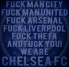 We Are CHELSEA FC!
