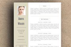 The Amaya Resume Pack by LeResume on Creative Market