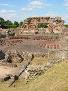 Wroxeter is the site of an old Roman town, Viroconium Cornoviorum, which was the fourth largest  capital in Roman Britain. Established in 48AD and growing to a fair size before being abandoned sometime on the 5th or 6th century AD. Wroxeter has the largest intact section of Roman wall in the UK