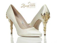 Harriet Wilde 2016 The Collection | Harriet Wilde Wedding Shoes Joanie Platform Cherry RRP £450