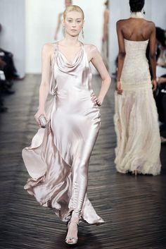 Ralph Lauren Fall 2009 Ready-to-Wear Fashion Show - Anastassia Khozzisova