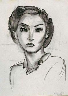 Henri Matisse - Women's Head, 1936