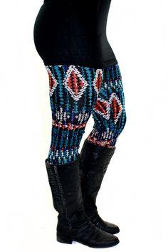 Printed legging. (96% Polyester, 4% Spandex)