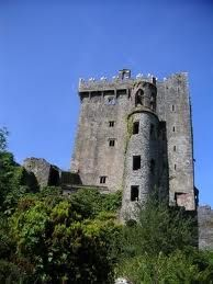 Massive ancient Blarney Castle