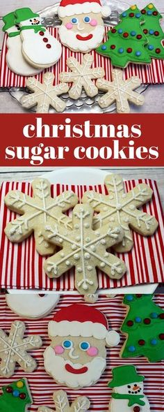 Easy Christmas sugar cookies recipe that is buttery, delicious and easy to decorate! #christmascookies #cookies #sugarcookies #decoratedsugarcookie #decoratedcookie #sugarcookierecipe #cookieart #cookiedecorating #CookieRecipe