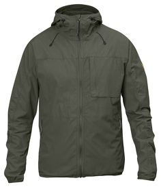 Product Details Light and pack-able wind jacket made from waxed polyamide/organic cotton. Adjustable hood and vertical chest pockets. Description Light, pliant and packable wind jacket in waxed polyam