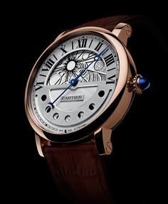 2a8791d5cde Cartier - Rotonde de Cartier Day and Night watch with retrograde moon phases