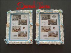 Deemak Twins: Molduras decoradas para menino